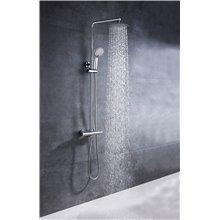 Conjunto de duche termostático com toque frio Round Llavisan