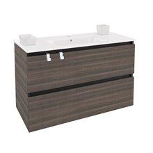 Móvel com lavatório de porcelana retangular 100 cm Fresno B-Box BATH+