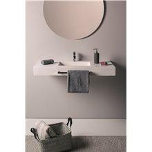 Lavatório suspenso curto toalheiro SAONA NATUGAMA