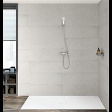 Conjunto torneira para duche bicomando Carmen Roca