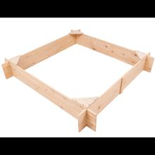 Caixa de areia infantil 150x150x25cm Outdoor Toys
