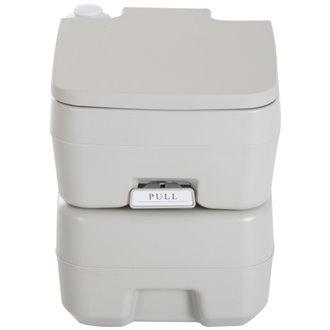 Sanita química portátil de 20 L com tampa - HOMCOM