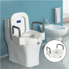Assento de elevação para sanita com apoio de...