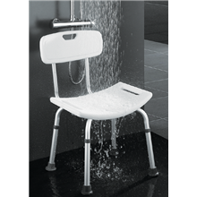 Banco de duche com encosto - OXEN
