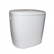 Sanita tanque baixo e tampa Basic Roca