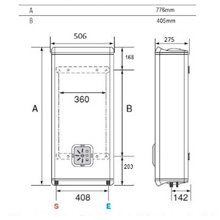 Termoacumulador reversível 50L Duo 50 EU - FLECK