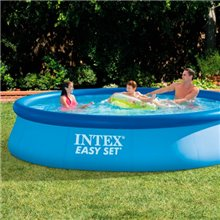 Piscina redonda insuflável Easy Set 396x84 INTEX