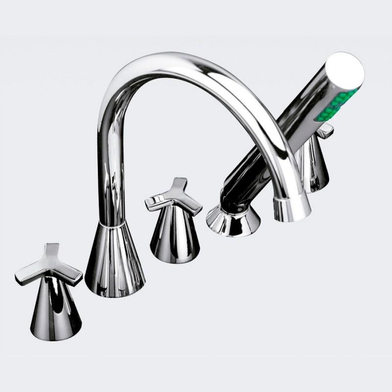 Conjunto para casa de banho com acessórios sobre mesa MARIN - Griferías MR