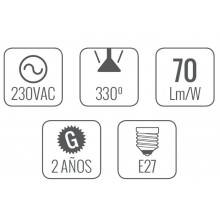 10 Lâmpadas LED de 3.5W - As de Led
