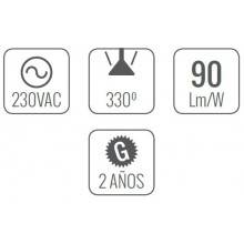 4 Lâmpadas LED de 10W - As de Led