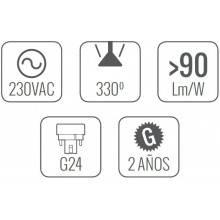 4 Lâmpadas LED de 13W - As de Led