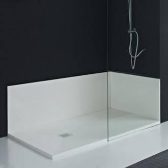Painel de casa de banho à medida XISTO/CALCÁRIO/LISO - RESIGRES