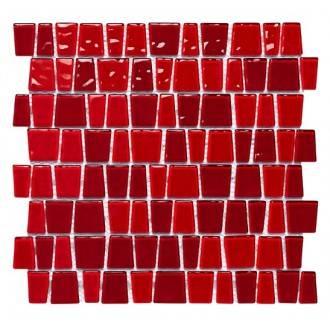 Mosaico VIDRO Red Snake - Dekostock