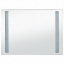 vidaXL Espejo de pared de baño con LED 100x60 cm