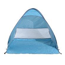 Tenda de campismo de praia azul Outsunny