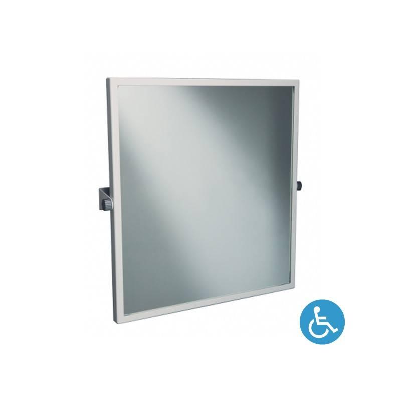 Espejo inclinación ajustable WCCARE 60x65 blanco