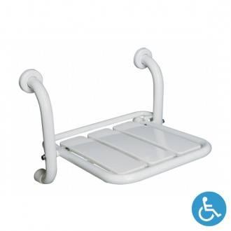 Assento para duche dobrável WCCARE fixação parede - Unisan Sanindusa