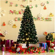 Árvore de natal grande com iluminação 180cm Homcom