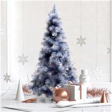 Árvore de natal cinzento metalico 150cm Homcom