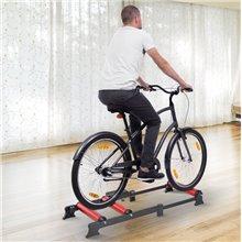 Rolo de ciclismo para bicicleta vermelho Homcom
