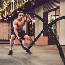 Corda de batalha para fitness y crossfit 9m Homcom