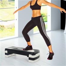 Step plataforma anti-derrapante de fitness Homcom