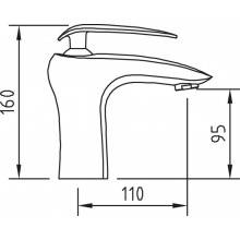 Torneira SELENE para lavatório - CLEVER