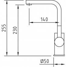 Torneira alta Bimini de lavatório