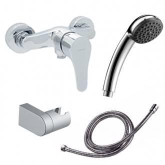 Torneira de duche com kit Start - CLEVER