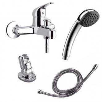 Torneira para banheira com kit de duche Panam - CLEVER