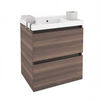 Móvel com lavatório de resina 60 cm Fresno B-Box BATH+