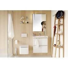Móvel com lavatório de porcelana 80 cm Branco B-Box BATH+