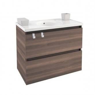Móvel com lavatório de porcelana 80 cm Fresno B-Box BATH+