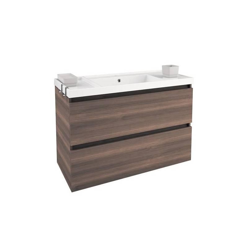 Móvel com lavatório de resina 100 cm Fresno B-Box BATH+