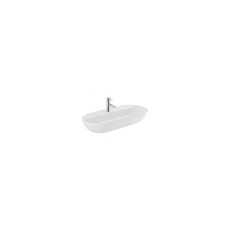 Lavatório oval Sanlife 80x38 - Unisan Sanindusa