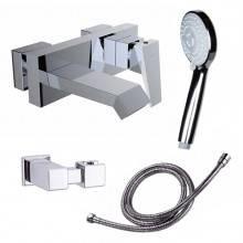 Torneira de banheira Ventu com kit de duche - CLEVER