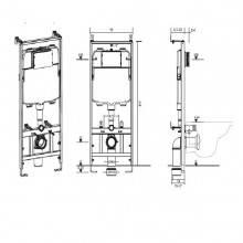Cisterna de encastrar KOLYMA - CLEVER