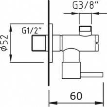 Válvula esquadria MINAMI - CLEVER