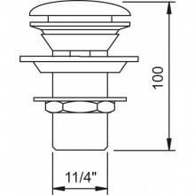 Válvula drenagem VELA c/ respiro - CLEVER