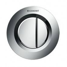 Placa de acionamento Geberit01 Cromado Brilhante cisterna 12 cm - GEBERIT