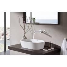 Torneira de lavatório mural L Moon White Eurodisc Joy - GROHE