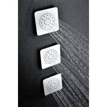 Jato de duche com base quadrada  - IMEX