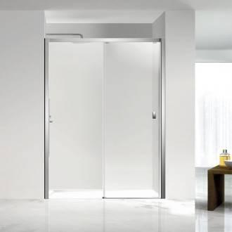 Painel de duche frontal 1 porta de correr PLUS COSMIC