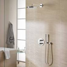 Conjunto de duche termostático Grohtherm 3000 Cosmopolitan RS 310 Circular - GROHE