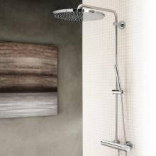 Coluna de duche termostática Rainshower System 400 - GROHE