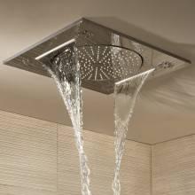 Chuveiro pulverizador de duche mural 3 jatos...