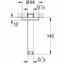 Braço para chuveiro de teto de 14,2 cm Rainshower - GROHE