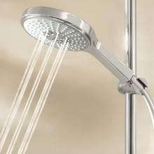 Conjunto de chuveiro de mão com barra de 90 cm Power&Soul Cosmopolitan 160 - GROHE