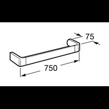 Toalheiro lavatório  75cm Select Roca