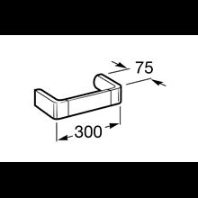 Toalheiro lavatório  30cm Select Roca